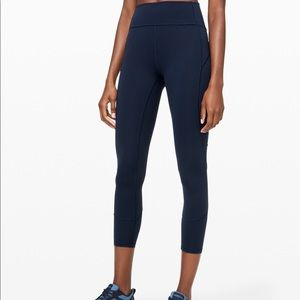 "Lululemon In Movement Tights 25"" Everlux"